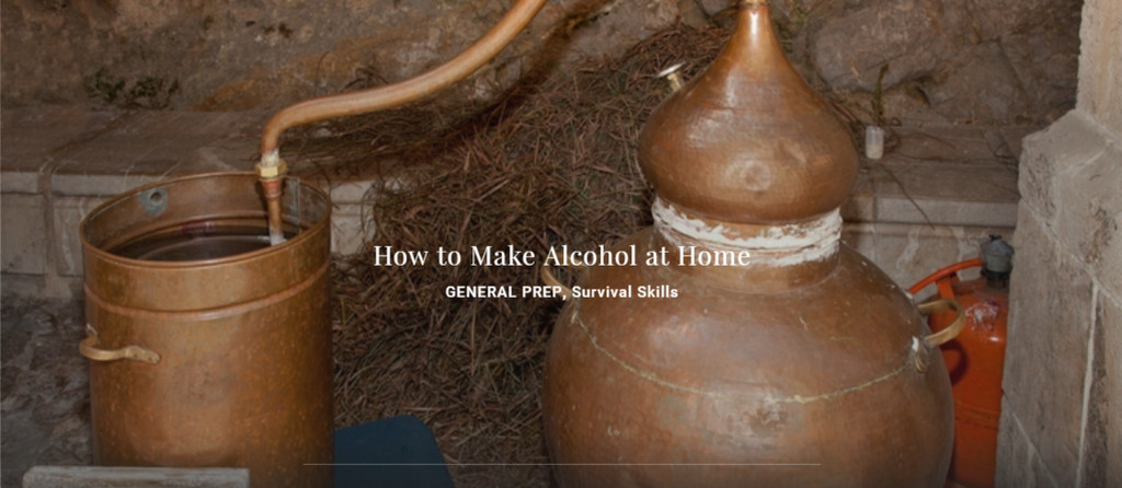 How to Make Alcohol at Home
