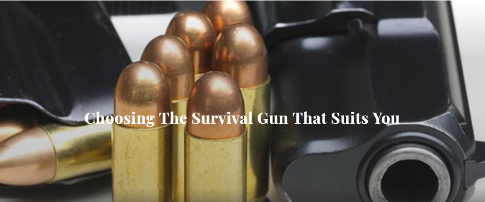 Choosing The Survival Gun That Suits You
