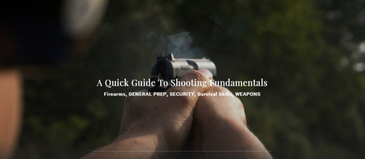 A Quick Guide To Shooting Fundamentals Firearms - GENERAL PREP, SECURITY, Survival Skills, WEAPONS