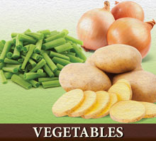 Bulk Vegetables Food Storage