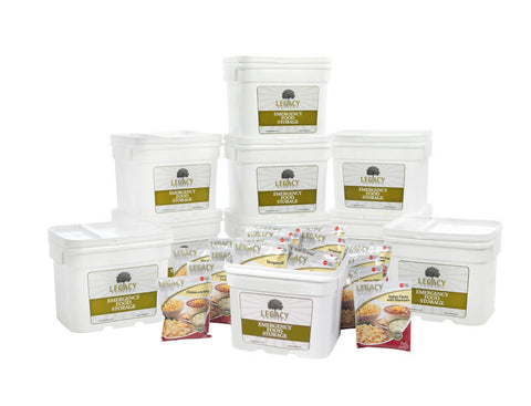 Premium 1080 Serving Meal Package (ONE-YEAR FOOD SUPPLY) - 276 lbs