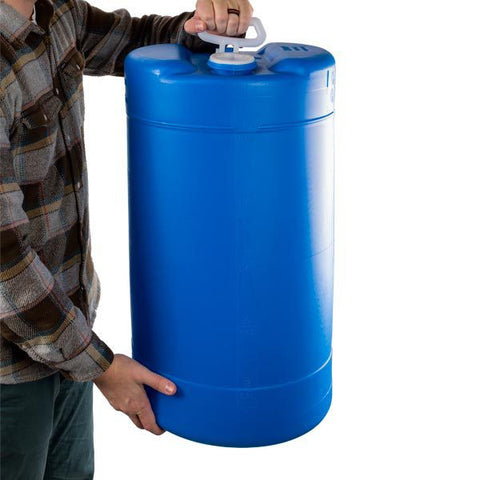 15 Gallon - BPA-free - Portable Heavy-Duty Plastic Water Storage Tank