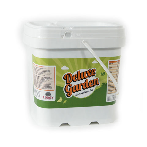 Deluxe Vegetable Garden Non-Hybrid Seed Mega Kit