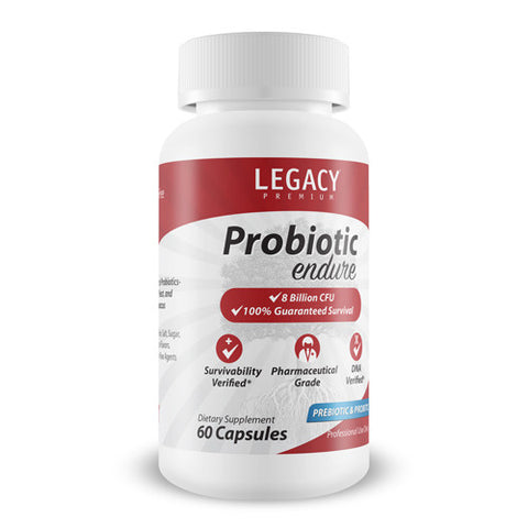 Endure Probiotic - 5 Year Shelf Life, 30 Day Supply