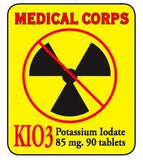 Potassium Iodate - (Prevents The Thyroid From Absorbing Radioactive Iodine During Nuclear Emergency)
