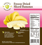 34 Servings Freeze-Dried Banana Chips Pouch