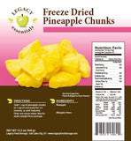 44 Servings Freeze-Dried Pineapple Pouch - 6 pack