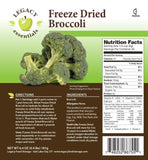 30 Servings Freeze Dried Broccoli