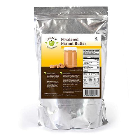 81 Servings Powdered Peanut Butter