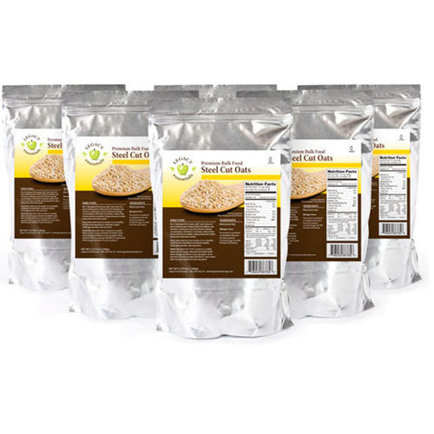 49 Servings Steel Cut Oats - 6 pack