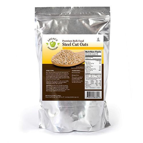 49 Servings Steel Cut Oats
