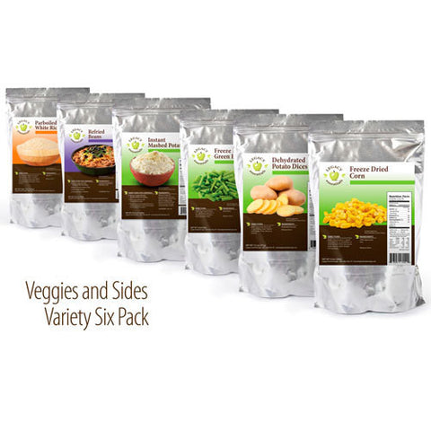 Legacy Essentials Assorted Freeze-Dried / Dehydrated Sides