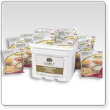 120 Serving Breakfast, Lunch, and Dinner Bucket - 30.7 lbs