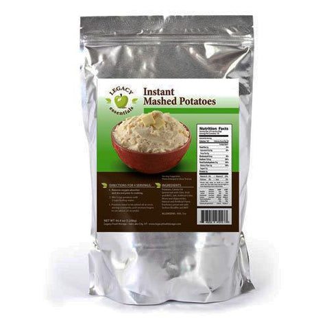 36 Servings Dehydrated Instant Mashed Potatoes
