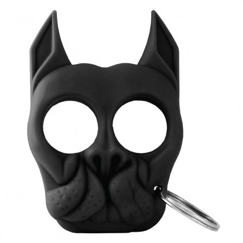Brutus The Bull Dog SURVIVAL Keychain-BLACK