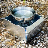 Bobcat Folding Stove and 16, 48, or 96 Hour Disaster Fuel Source