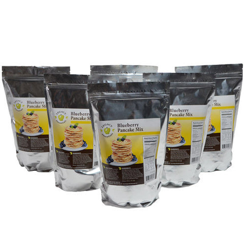 14 Serving Blueberry Pancakes Mix - 6 pack