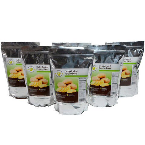 12 Serving Potato Dices Pouch - 6 pack