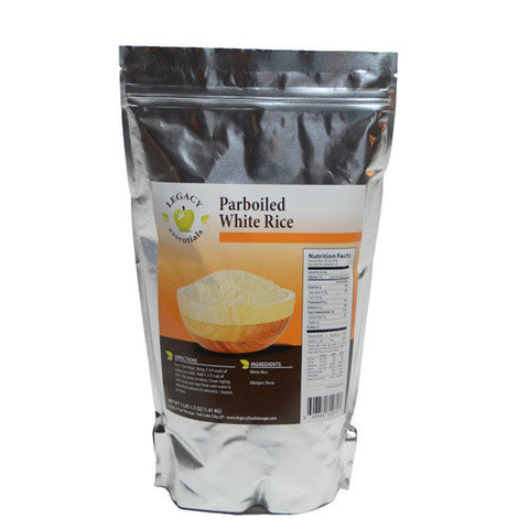 30 Serving Parboiled Rice Pouch