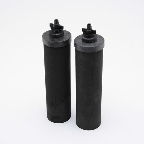 Black Berkey Replacement Filters for Drip System - 2 Pack