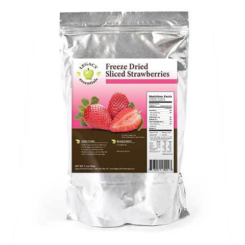 22 Servings Freeze-Dried Strawberries Pouch