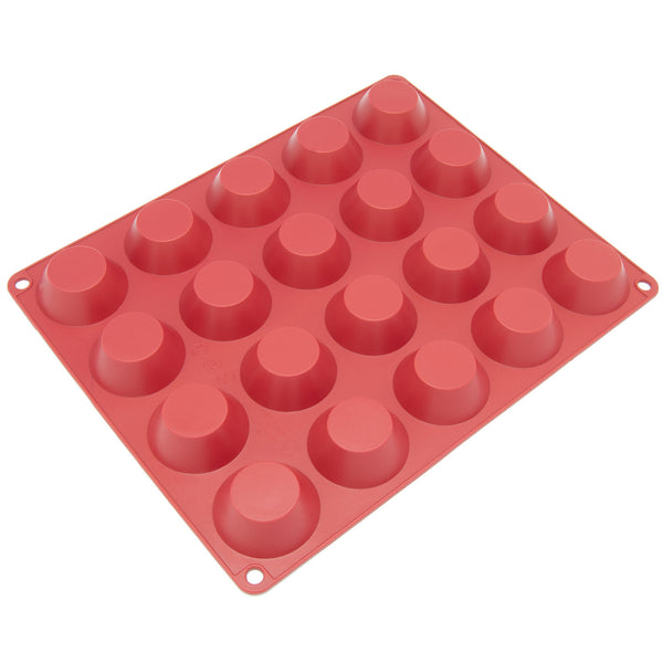 20-Cavity Silicone Mini Cheesecake, Panna Cotta, Pudding, Jello Shot, Pie, Custard and Tart Mold