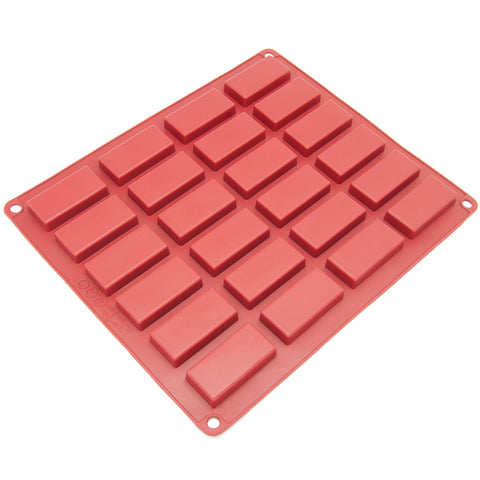 24-Cavity Silicone Mini Financier, Candy and Cookie Mold