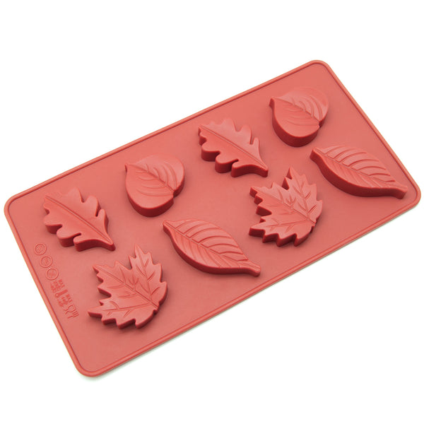 8-Cavity Silicone Maple Leaves Chocolate, Candy and Gummy Mold
