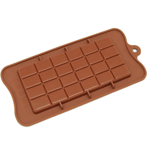Silicone Break-Apart Chocolate, Protein and Energy Bar Mold
