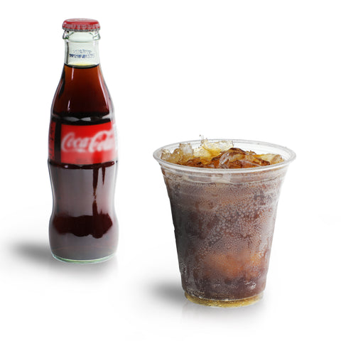 Freshware Plastic Clear Cup (12oz, 100 Pieces)