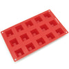 15-Cavity Silicone Mini Pyramid Chocolate, Candy and Gummy Mold