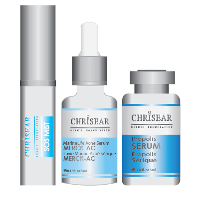 Face Serum - Blue Label Anti Acne Set