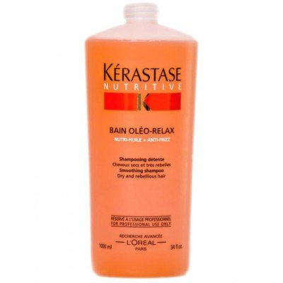 Kerastase Nutritive Bain Oleo Relax - Formulated to discipline dry, frizzy, unmanageable hair.