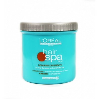 L'Oreal Hair Spa Smoothing Creambath (For very damaged and sensitized hair) -1L