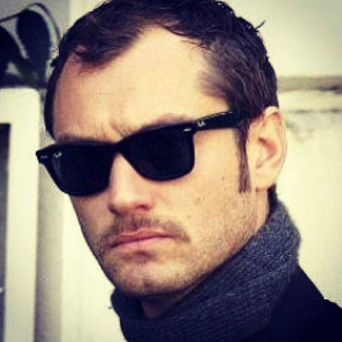 Jude Law in Ray-Ban Wayfarer RB2140 Singapore