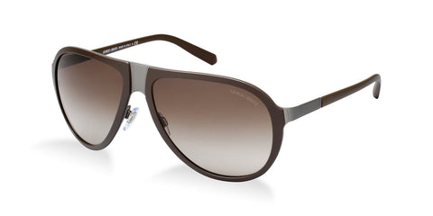 Giorgio Armani AR6008 (Matte Brushed Gunmetal/Grey frame / Green Gradient lenses)