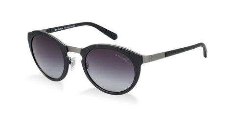 Giorgio Armani AR6009 (Matte Brushed Gunmetal/Grey frame / Green Gradient lenses)