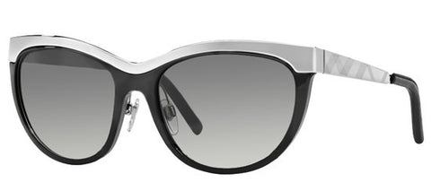 Burberry BE3076Q (Black frame / Grey Gradient lenses)