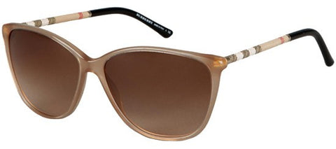 Burberry BE4117 (Light Brown frame / Brown Gradient lenses)