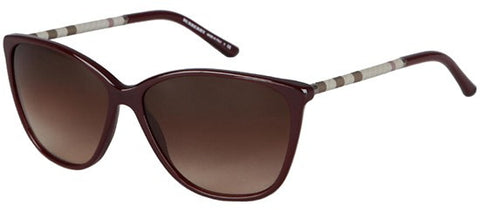 Burberry BE4117 (Violet frame / Brown Gradient lenses)