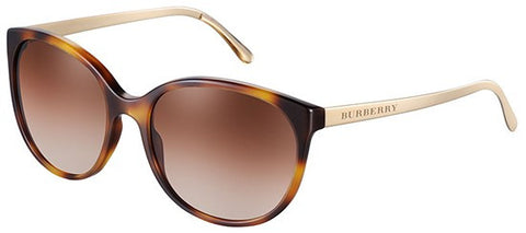 Burberry BE4146 (Havana frame / Brown Gradient lenses)