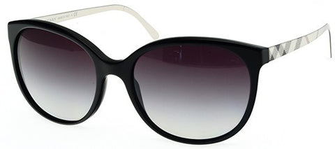 Burberry BE4146 (Black frame / Grey Gradient lenses)
