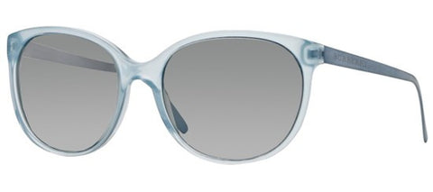 Burberry BE4146 (Azure frame / Light Grey Mirror Gradient lenses)