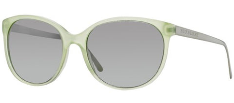 Burberry BE4146 (Green frame / Light Grey Mirror Gradient lenses)