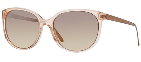 Burberry BE4146 (Pink frame / Light Grey Mirror Gradient lenses)