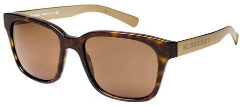 Burberry BE4148 (Havana frame / Brown lenses)