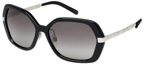 Burberry BE4153Q (Black & Silver frame / Grey Gradient lenses)