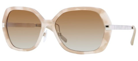 Burberry BE4153Q (Beige Havana frame / Polarized Brown Gradient lenses)
