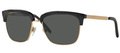 Burberry BE4154Q (Black & Gold frame / Grey lenses)