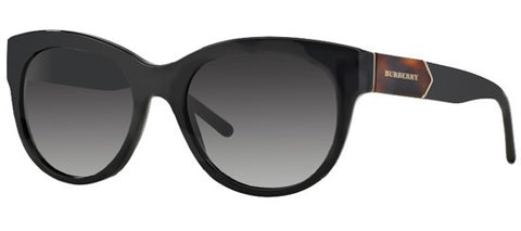 Burberry BE4156 (Black frame / Grey Gradient lenses)